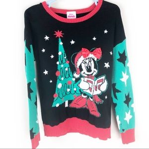 Disney Junior- Minnie Christmas sweater size: 5T